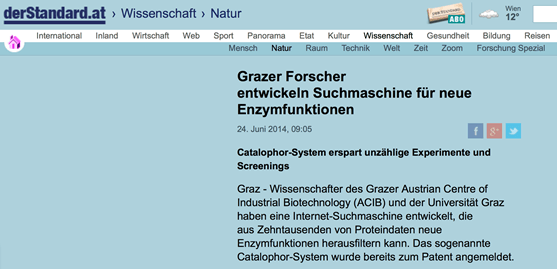 Researchers from Graz develop search engine for new enzyme functions – standard.at