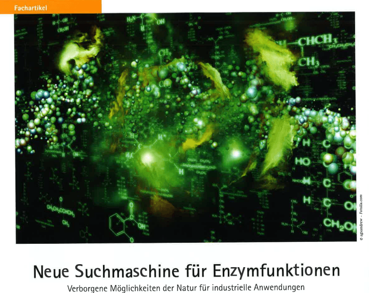 New search engine for enzyme functions: Hidden possibilities of nature for industrial applications – Git Labor-journal
