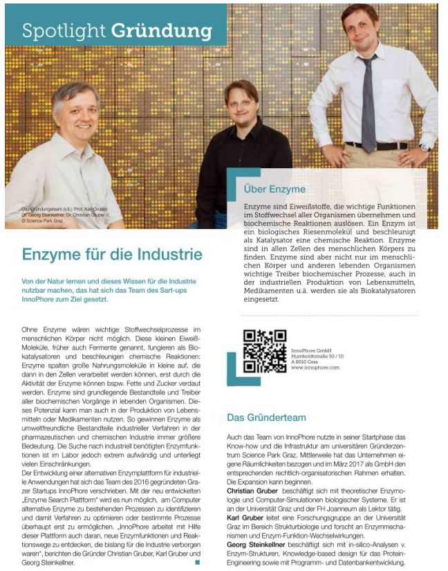 Spotlight Foundation: Enzymes for industry – botenstoff